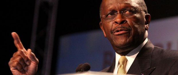 Photo of Herman Cain by Gage Skidmore. Click here for additional attribution information.