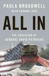 "Book Jacket of ""All In,"" Paula Broadwell's biography of David Petraeus"