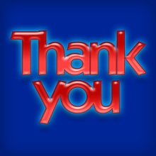 """Thank You"" design by Patrick Hoesly. Click here for additional attribution information."