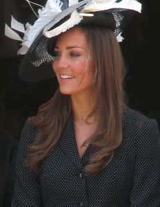 Kate Middleton, Duchess of Cambridge. Photo by Nick Warner. Click here for additional attribution information